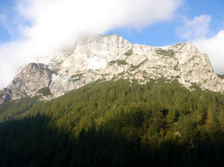 Foto: Manfred Karl / Klettersteig Tour / Civetta Überschreitung - Via ferrata degli Alleghesi und Abstieg über Via ferrata Attilio Tissi / Am Ausgangspunkt der Cresta della Grava / 19.07.2008 14:42:17