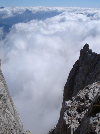 Foto: Manfred Karl / Klettersteig Tour / Civetta Überschreitung - Via ferrata degli Alleghesi und Abstieg über Via ferrata Attilio Tissi / 19.07.2008 14:23:04