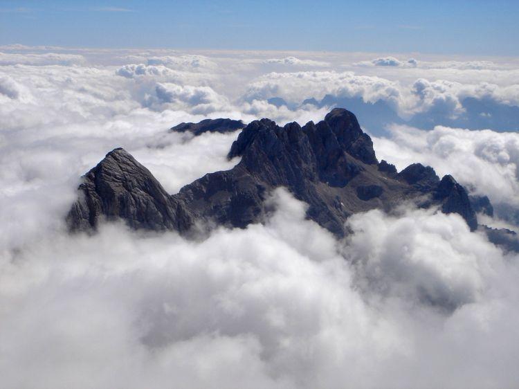 Foto: Manfred Karl / Klettersteig Tour / Civetta Überschreitung - Via ferrata degli Alleghesi und Abstieg über Via ferrata Attilio Tissi / 19.07.2008 14:16:22