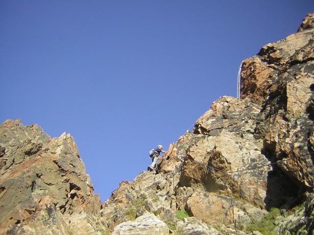 Foto: Wolfgang Lauschensky / Klettersteig Tour / Klettersteig auf das Jägihorn / zum Ostgipfel / 15.10.2012 20:44:26