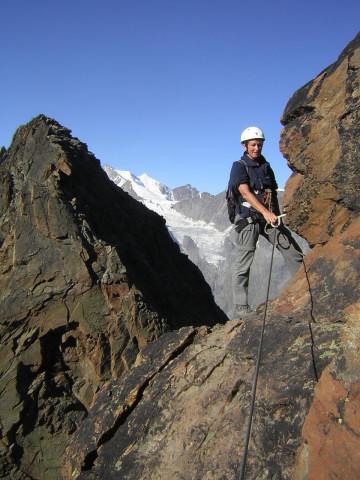 Foto: Wolfgang Lauschensky / Klettersteig Tour / Klettersteig auf das Jägihorn / Ostgratscharte / 15.10.2012 20:44:10