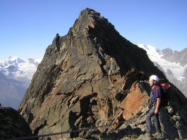 Foto: Wolfgang Lauschensky / Klettersteig Tour / Klettersteig auf das Jägihorn / Ostgrat zum Jägihorn / 15.10.2012 20:43:59