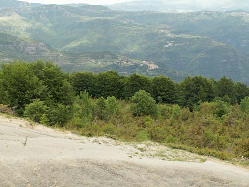 Foto: lobivia / Wander Tour / Wandertage Abruzzen: Etappe 3 Paladini - Pietracamela / kurz nach Prato Selvo nach der Abzweigung / 20.07.2008 14:00:27