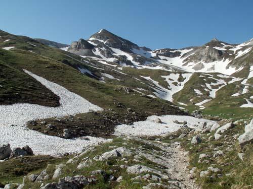 Foto: lobivia / Wander Tour / Wandertage Abruzzen: Etappe 4 Pietracamela - Campo Imperatore / Val Maone / 21.07.2008 17:07:04