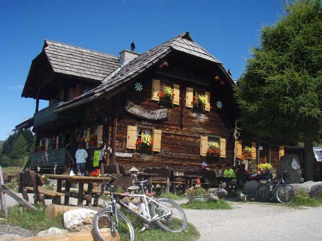 Foto: Grasberger Gerhard / Mountainbike Tour / Von Dellach in die Nockberge / Lammersdorferhütte / 31.07.2008 16:56:46