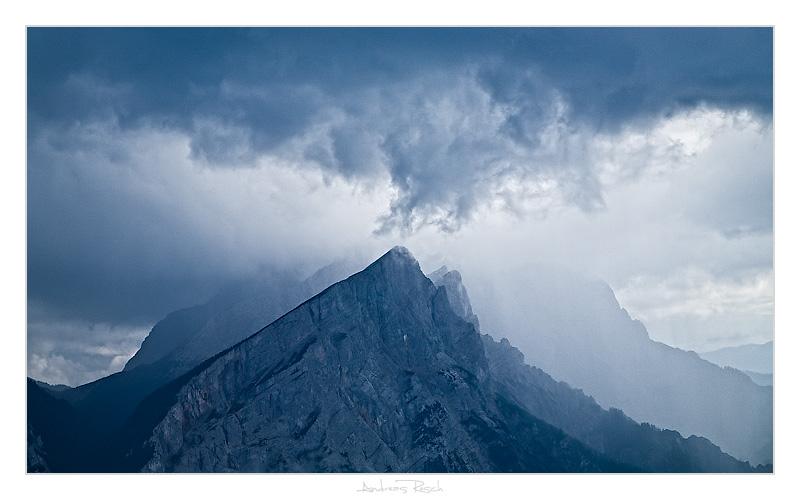 Foto: AndreasResch / Wander Tour / Gstatterboden - Kühboden - Tamischbachturm - Ennstaler Hütte - Gstatterboden / Gewitter über der Hochtorgruppe / 03.08.2008 21:43:22