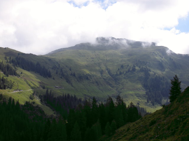 Foto: mark1980 / Mountainbike Tour / Märzengrund - Lab Hochalm / Blick Richtung Sonnjoch 2287m / 05.08.2008 17:23:04