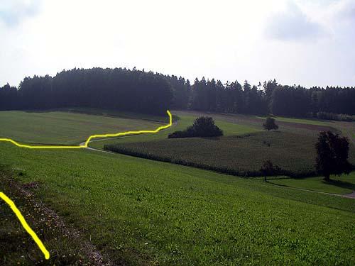 Foto: lobivia / Mountainbike Tour / Wiesendangen-Buch-Schneitberg-Elgg-Risiloch-Schottikon-Schnasberg-Wiesendangen / 23.06.2009 16:08:50