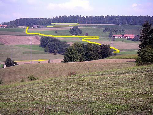 Foto: lobivia / Mountainbike Tour / Wiesendangen-Buch-Schneitberg-Elgg-Risiloch-Schottikon-Schnasberg-Wiesendangen / 23.06.2009 16:07:45