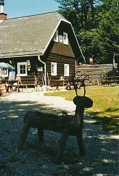 Foto: Wolfgang Dröthandl / Wander Tour / Krummbachstein - Runde über den Gahns / Friedrich Haller - Haus auf der Knofeleben 2008, Hütte abgebrannt am 8. 4. 2011 / 26.01.2011 11:48:47