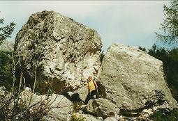Foto: Wolfgang Dröthandl / Wander Tour / Jof di Somdogna (Köpfach) - Runde / Anstieg aus der Saisera zum Bivacco Stuparich / 21.01.2011 08:27:52