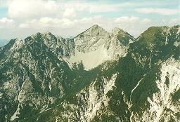 Foto: Wolfgang Dröthandl / Wander Tour / Jof di Somdogna (Köpfach) - Runde / Due Pizzi vom Gipfel des Köpfach / 21.01.2011 08:23:46