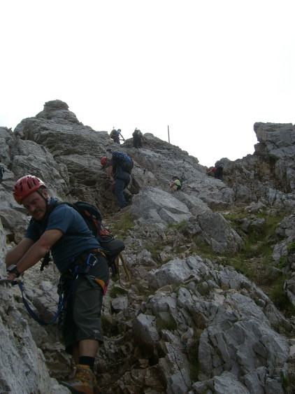 Foto: winsch / Klettersteig Tour / Koschutnikturm, ÖTK Steig / Ausstieg ÖTK Steig / 20.09.2009 18:16:04