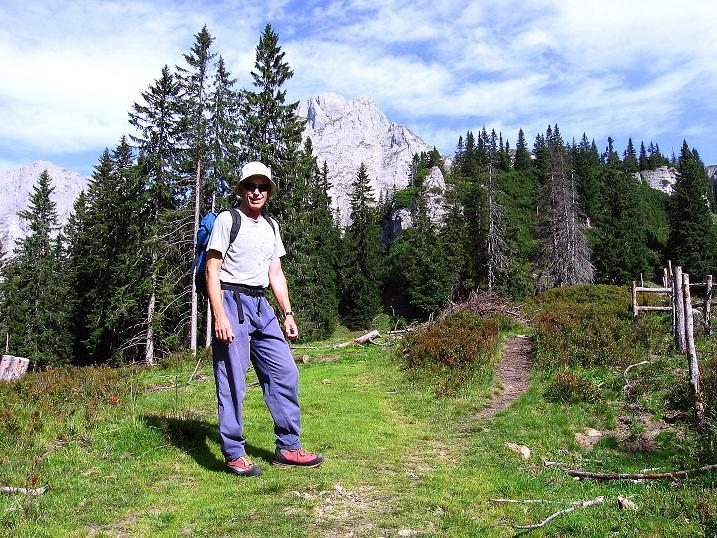 Foto: Andreas Koller / Wander Tour / Mödlinger Hütte und Pfarrmauer (1995 m) / Aufstieg zur Pfarrmauer / 08.09.2008 22:22:38