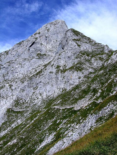 Foto: Andreas Koller / Wander Tour / Mödlinger Hütte und Pfarrmauer (1995 m) / Kurz unterhalb der Pfarrmauer mit Blick auf den Reichenstein (2251 m) / 08.09.2008 22:22:09