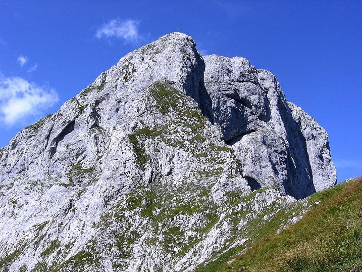 Foto: Andreas Koller / Wander Tour / Mödlinger Hütte und Pfarrmauer (1995 m) / Blick aufs Totenkirchl (2184 m) und den Reichenstein (2251 m) / 08.09.2008 22:21:22