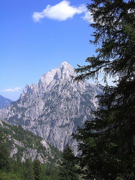 Foto: Andreas Koller / Wander Tour / Mödlinger Hütte und Pfarrmauer (1995 m) / Blick nach O in die Hochtorgruppe (2369 m) / 08.09.2008 22:19:39