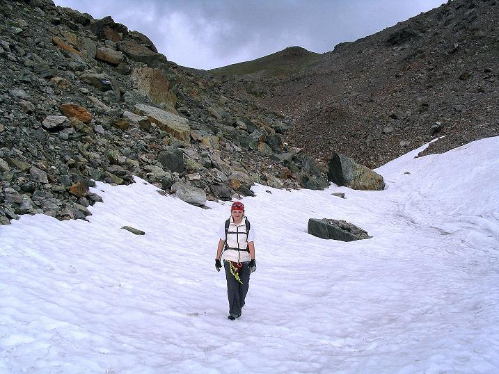 Foto: Andreas Koller / Klettersteig Tour / Flimspitze Klettersteig (2929m) / Abstieg vom Flimjoch / 08.09.2008 23:06:37