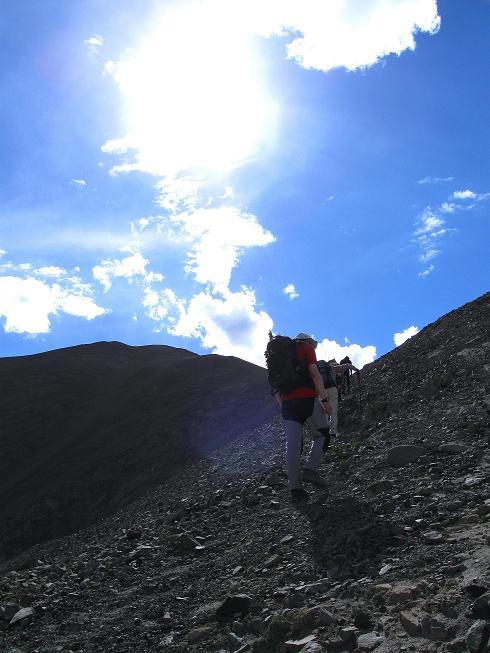 Foto: Andreas Koller / Wander Tour / Choklamsar Ri (4000m) - Akklimatisationstour über Leh / Einfacher Anstieg auf einen 4000er / 08.09.2008 23:49:19