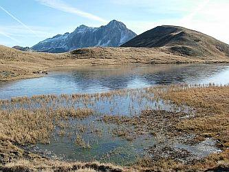 Foto: Ferienregion Lungau / Wander Tour / Bergseewanderung zum Rothenwändersee (2.010m) / Bildnachweis des Rothenwändersee - Tourismusverband Zederhaus / 02.10.2008 18:34:37