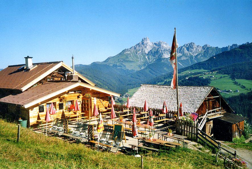 Foto: Eva / Wander Tour / Moosalm / Sehr gemütliche, urige Hütte / 03.10.2008 14:50:09