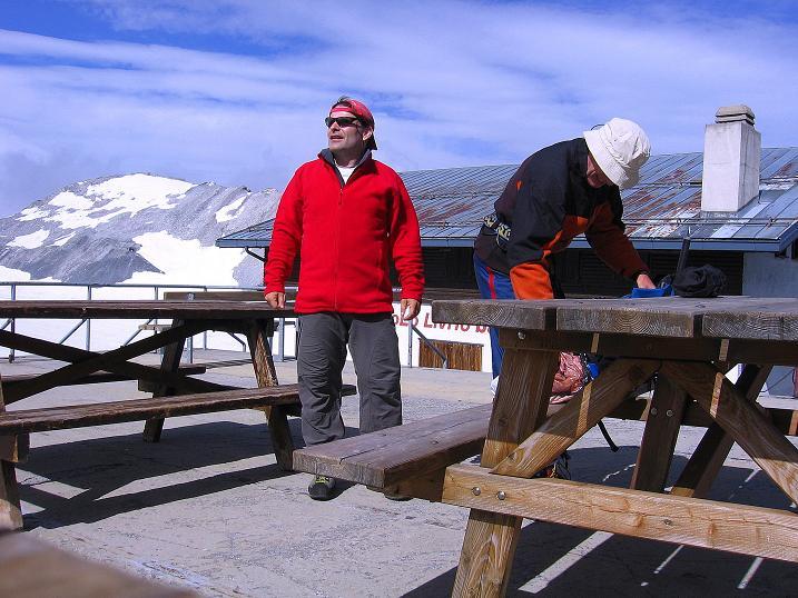 Foto: Andreas Koller / Wander Tour / Vom Monte Livrio auf die Hohe Schneide (3434m) / Start der Tour beim Rif. Livrio / 09.09.2008 23:13:13