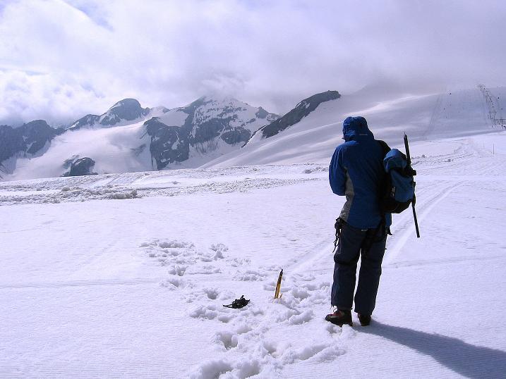 Foto: Andreas Koller / Wander Tour / Vom Monte Livrio auf die Hohe Schneide (3434m) / Am Ebenenferner nahe dem Monte Livrio / 09.09.2008 23:12:26