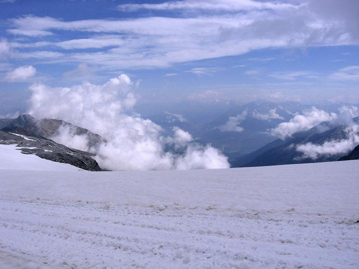 Foto: Andreas Koller / Wander Tour / Vom Monte Livrio auf die Hohe Schneide (3434m) / Blick vom Ebenenferner nach NO / 09.09.2008 23:11:37