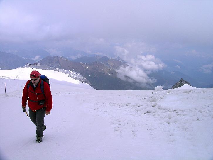Foto: Andreas Koller / Wander Tour / Vom Monte Livrio auf die Hohe Schneide (3434m) / Am Ebenenferner / 09.09.2008 23:11:20