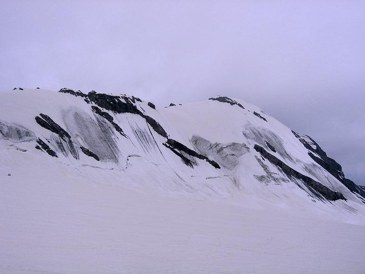 Foto: Andreas Koller / Wander Tour / Vom Monte Livrio auf die Hohe Schneide (3434m) / Die Hohe Schneide mit dem O-Grat / 09.09.2008 23:11:07