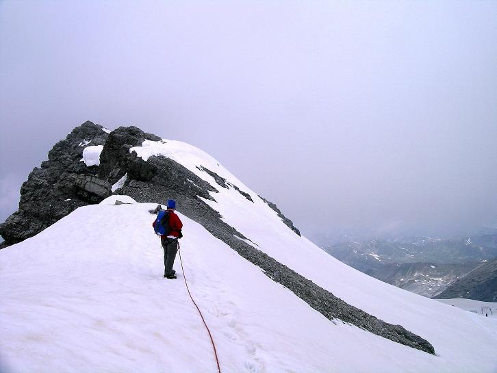 Foto: Andreas Koller / Wander Tour / Vom Monte Livrio auf die Hohe Schneide (3434m) / Der O-Grat der Hohen Schneide / 09.09.2008 23:10:08