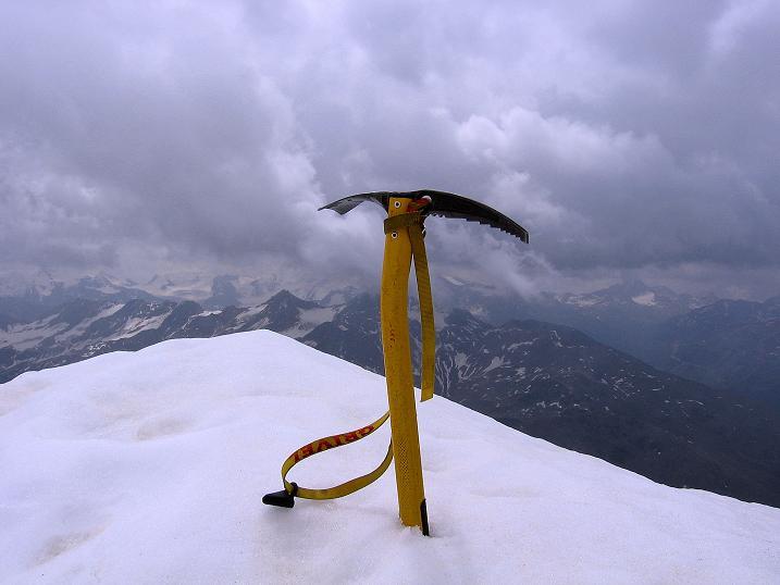 Foto: Andreas Koller / Wander Tour / Vom Monte Livrio auf die Hohe Schneide (3434m) / Auf der Hohen Schneide / 09.09.2008 23:07:35