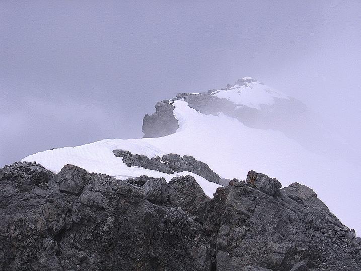 Foto: Andreas Koller / Wander Tour / Vom Monte Livrio auf die Hohe Schneide (3434m) / Abstieg vom Hohe Schneide Gipfel / 09.09.2008 23:07:06