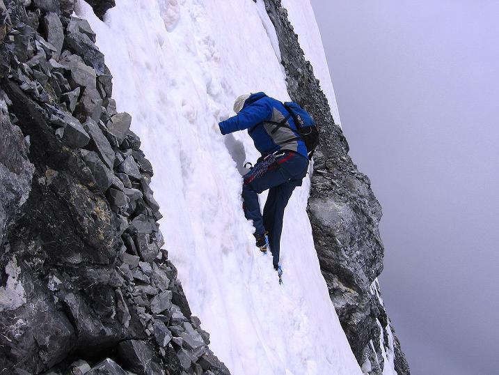 Foto: Andreas Koller / Wander Tour / Vom Monte Livrio auf die Hohe Schneide (3434m) / Kurzer, aber steiler An- / Abstieg vom O-Grat / 09.09.2008 23:06:02
