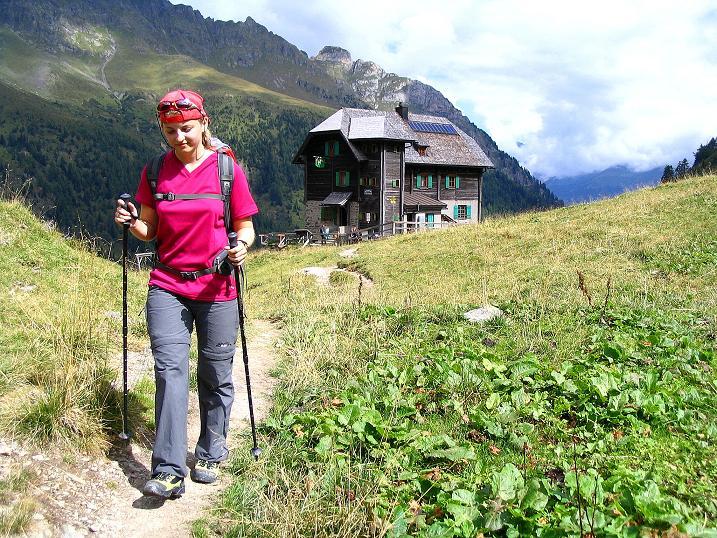 Foto: Andreas Koller / Klettersteig Tour / Via Sartor auf den Hochweißstein / Monte Peralba (2694m) / Beim Hochweißsteinhaus / 10.09.2008 00:12:00
