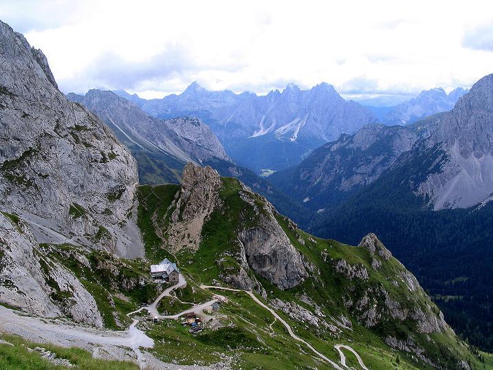Foto: Andreas Koller / Klettersteig Tour / Via Sartor auf den Hochweißstein / Monte Peralba (2694m) / Rif. Calvi und die südlichen Karnischen / 10.09.2008 00:08:04