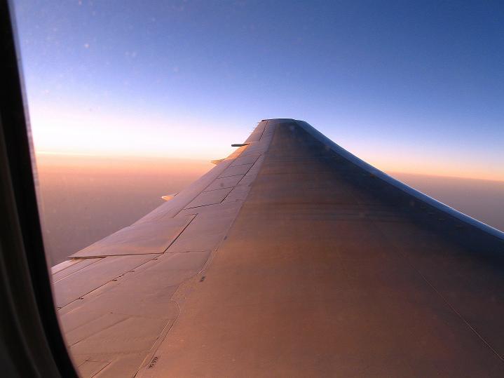 Foto: Andreas Koller / Wander Tour / Vom Stok Gompa auf den Stok Ri (5002m) / Über den Wolken mit Austrian Airlines / 10.09.2008 01:06:39