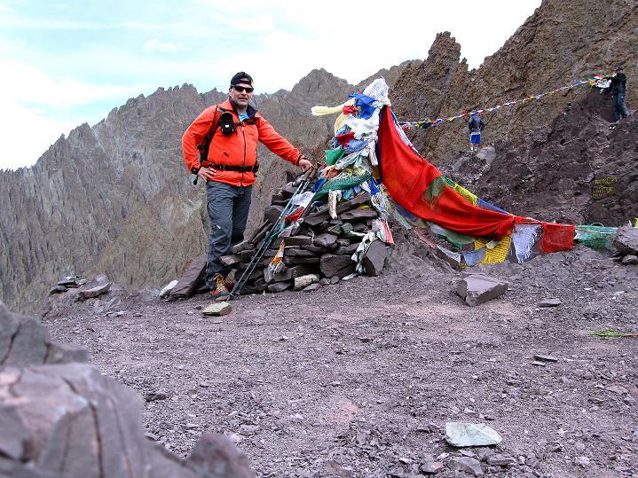 Foto: Andreas Koller / Wander Tour / Vom Stok Gompa auf den Stok Ri (5002m) / Am Stok La / 10.09.2008 00:58:04