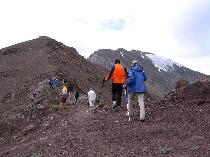 Foto: Andreas Koller / Wander Tour / Vom Stok Gompa auf den Stok Ri (5002m) / Am Grat zum Stok Ri / 10.09.2008 00:56:28