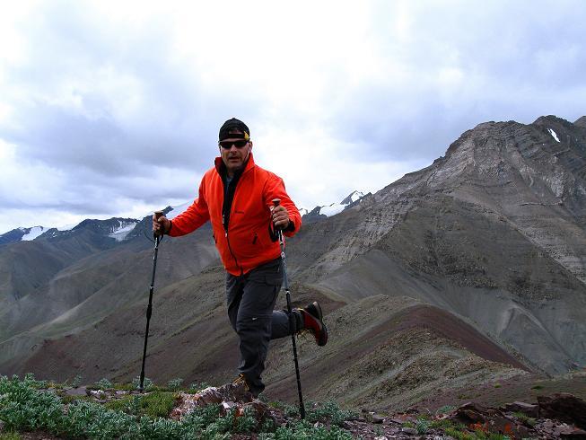 Foto: Andreas Koller / Wander Tour / Vom Stok Gompa auf den Stok Ri (5002m) / Am Stok Ri / 10.09.2008 00:54:52