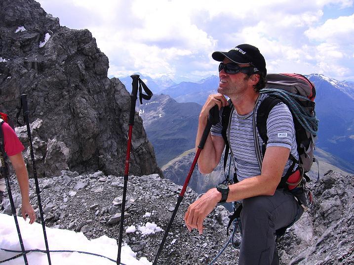 Foto: Andreas Koller / Wander Tour / Historische Tour auf die Payerspitze (3446m) / Rast am Geisterpass / 11.09.2008 03:17:58