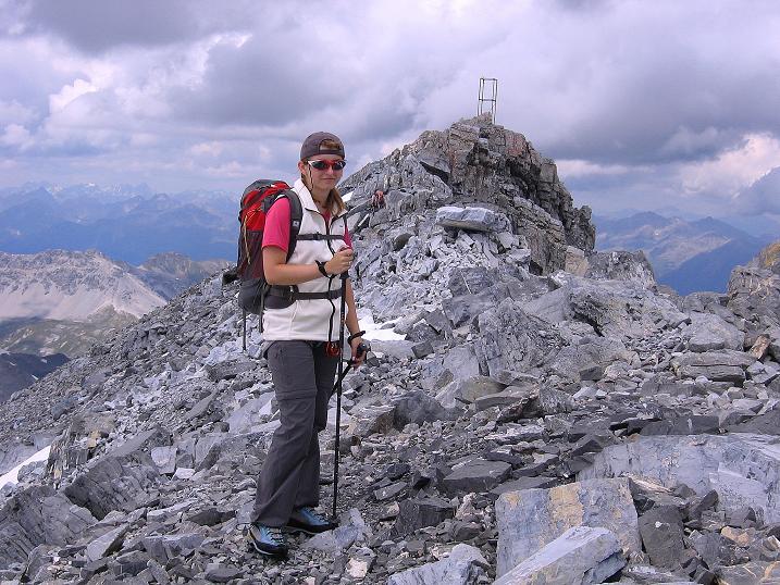 Foto: Andreas Koller / Wander Tour / Historische Tour auf die Payerspitze (3446m) / Der S-Grat zur Geisterspitze / 11.09.2008 03:05:15