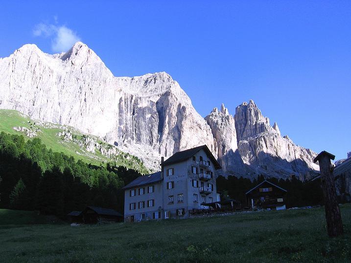 Foto: Andreas Koller / Klettersteig Tour / Kesselkogel Westroute (3002m) / Rif. Gardecia / 11.09.2008 23:46:14