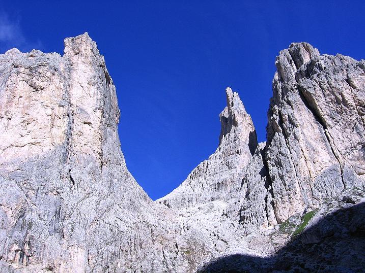 Foto: Andreas Koller / Klettersteig Tour / Kesselkogel Westroute (3002m) / Die Vajolettürme / 11.09.2008 23:45:33