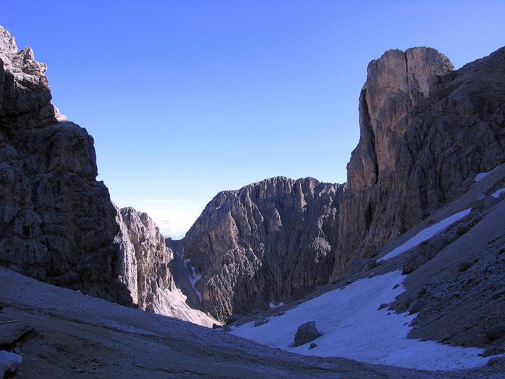 Foto: Andreas Koller / Klettersteig Tour / Kesselkogel Westroute (3002m) / Am Grasleitenpass / 11.09.2008 23:44:09