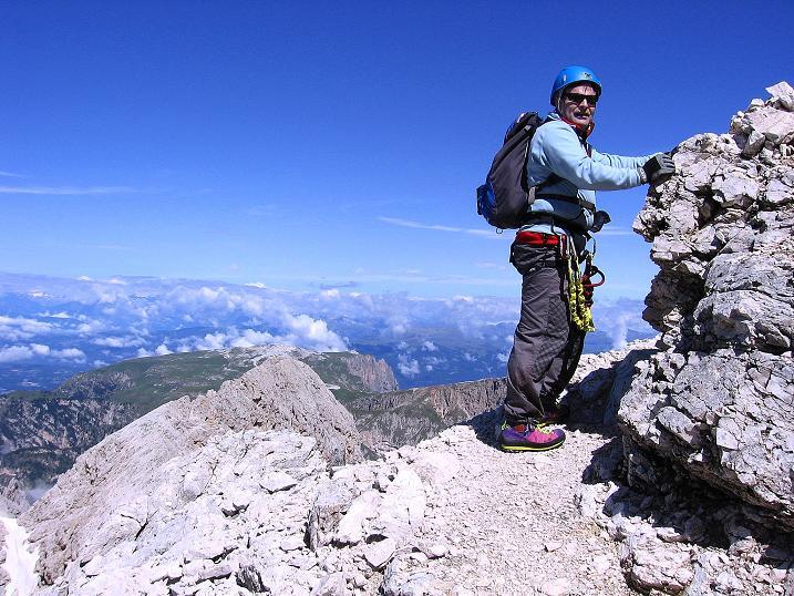 Foto: Andreas Koller / Klettersteig Tour / Kesselkogel Westroute (3002m) / Aussichtsreicher Klettersteig / 11.09.2008 23:39:58