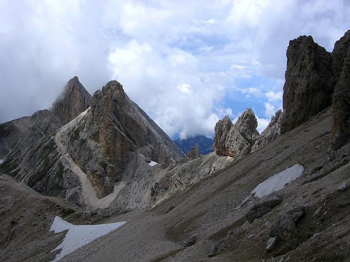 Foto: Andreas Koller / Klettersteig Tour / Kesselkogel Westroute (3002m) / Rückkehr zum Grasleitenpass / 11.09.2008 23:23:15