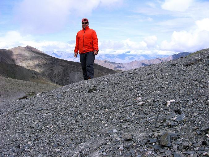 Foto: Andreas Koller / Wander Tour / Über den Ganda Ri (5113m) ins Markha Valley / Rast am Ganda La / 12.09.2008 00:15:55