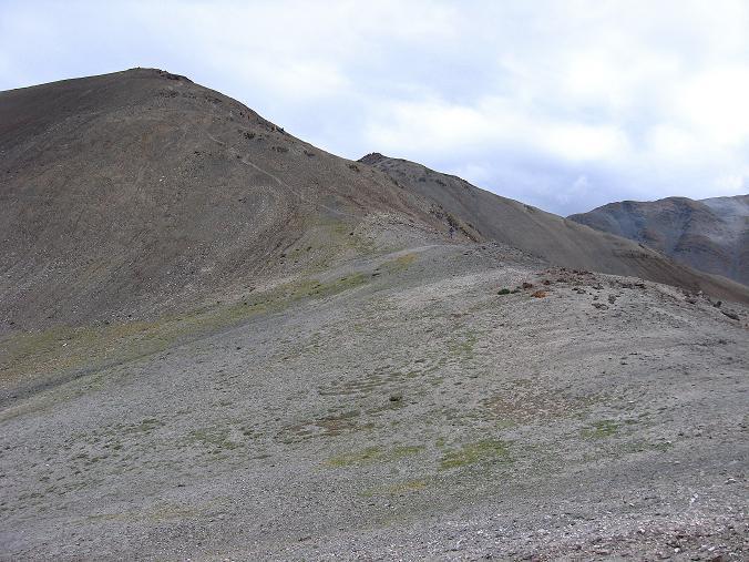 Foto: Andreas Koller / Wander Tour / Über den Ganda Ri (5113m) ins Markha Valley / Rückblick auf den Ganda Ri / 12.09.2008 00:13:06