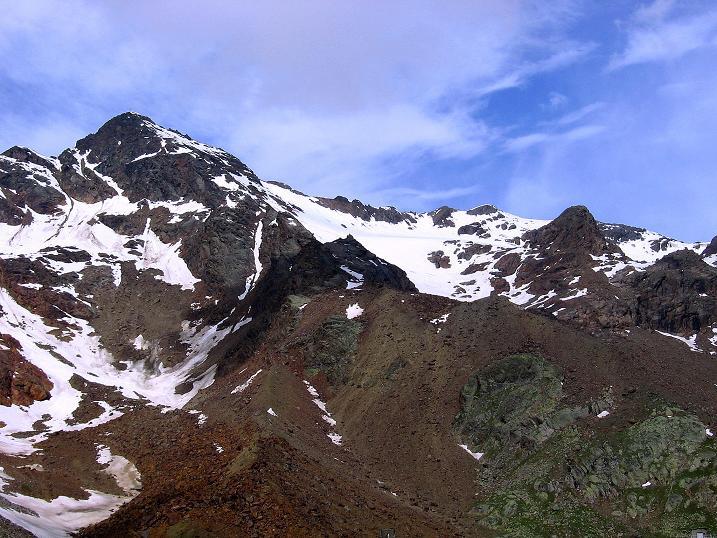 Foto: Andreas Koller / Wander Tour / Vom Grünsee auf die Zufrittspitze (3439m) / Die Hintere Eggenspitze (3443 m) / 12.09.2008 00:50:56